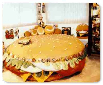Cheeseburger Bed