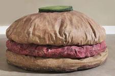 claes oldenburgs floor burger