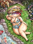 hawaiian burger gal