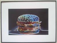Neon Hamburger