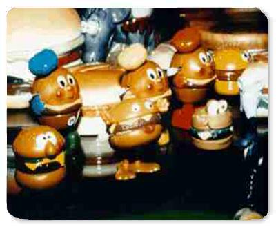 Burger Toys