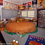 Hamburger Bed in The Int'l Hamburger Hall of Fame