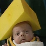 cheesehead triangle of cheese