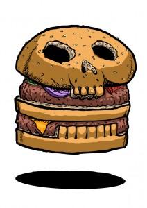 burger skull