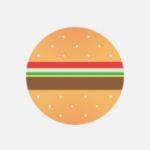 round burger