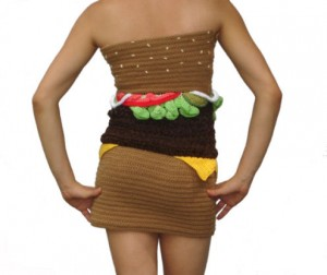 Burger Dress part 1