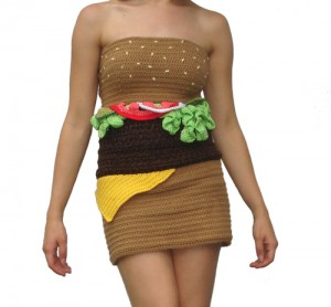 Burger Dress part 2