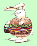 burger bunny