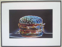 Neon Hamburger
