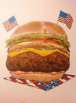 Patriotic Hamburger