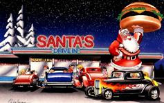 Santa's Drive-In