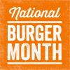 National Hamburger Month