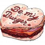 Burger Valentine