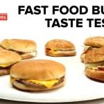 BuzzFeed Burger Taste Test