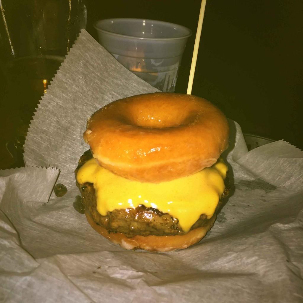 Kathy's taproom burger